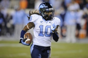 NCAA Football: North Carolina at Virginia